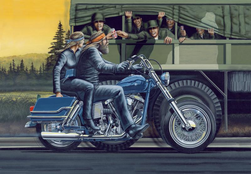 g i beer run limited editions all artwork david mann out